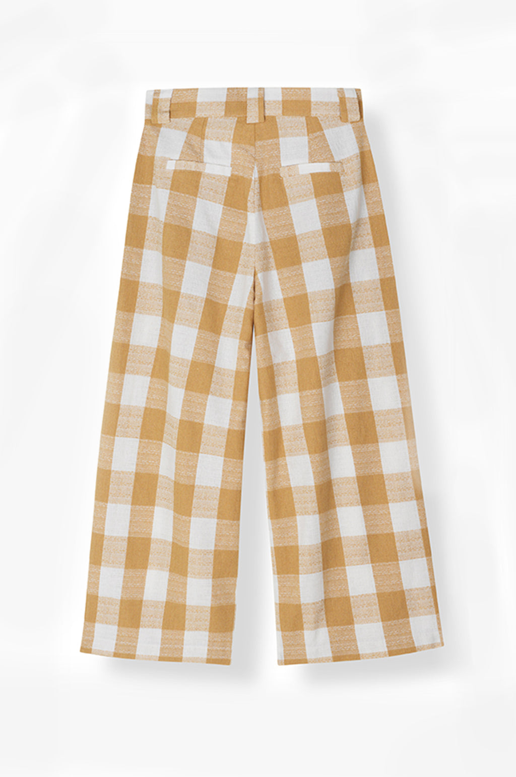 Jacklyn Pant in Camel Checks