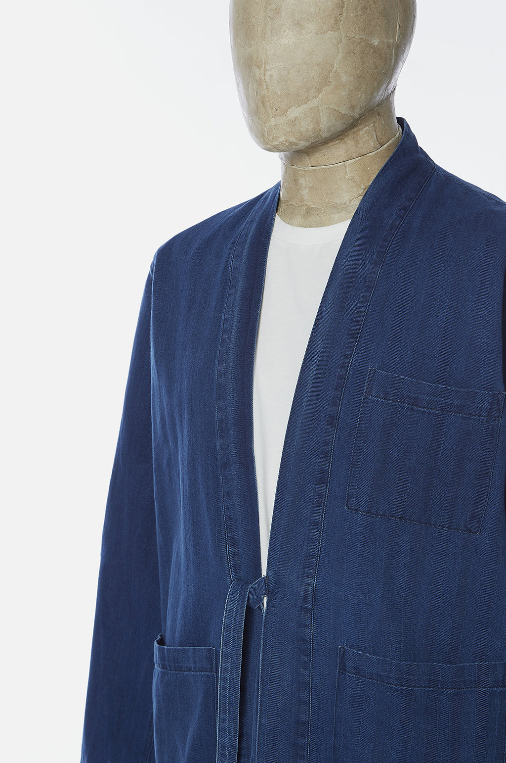 Kyoto Work Jacket Washed Indigo