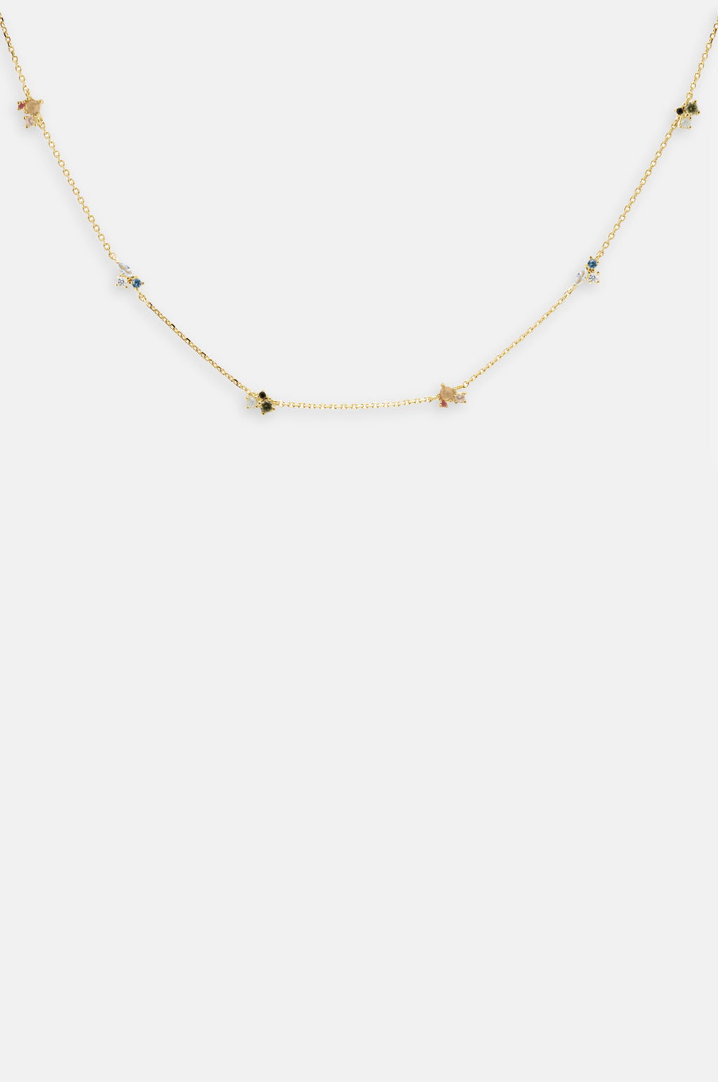 La Palette Gold Necklace