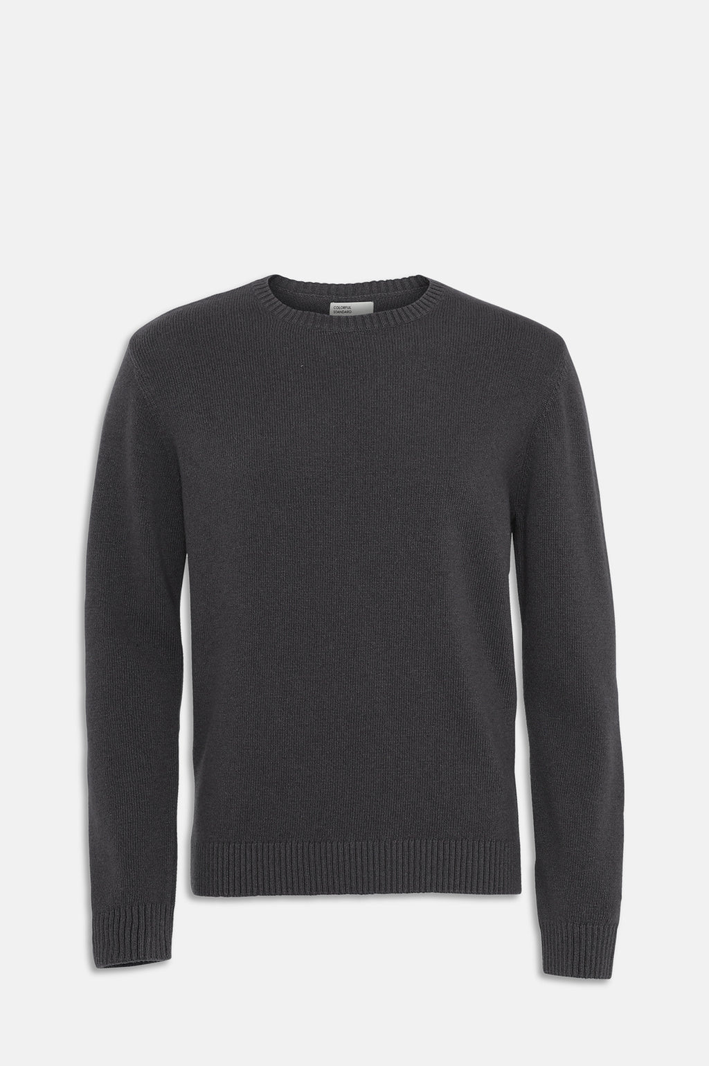 ReMade Wool Crewneck Jumper in Lava Grey