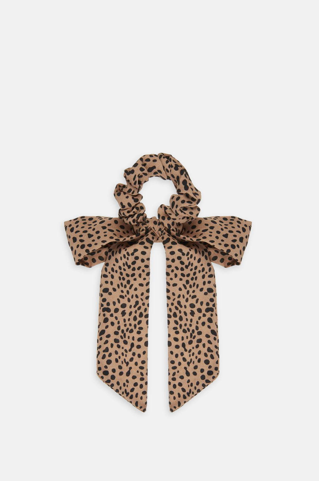 Leopard Scrunchie With Tails