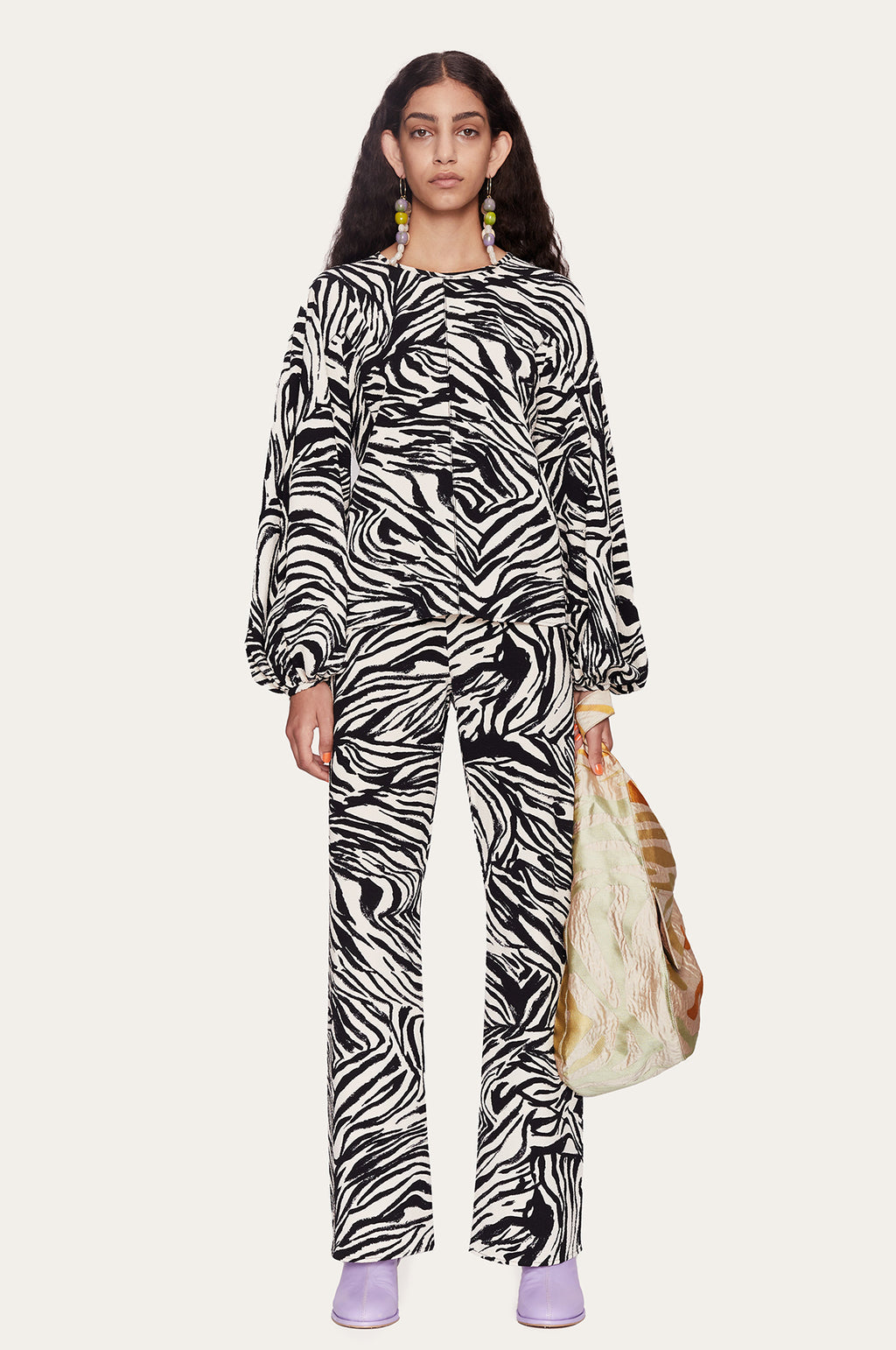 Marc Pant in Zebra Black