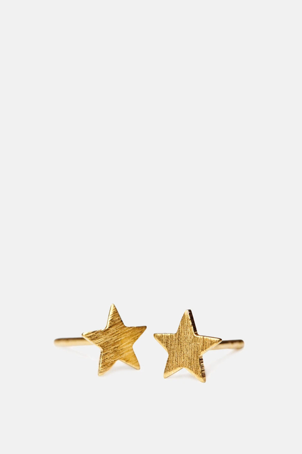 Medium Star Gold Earsticks