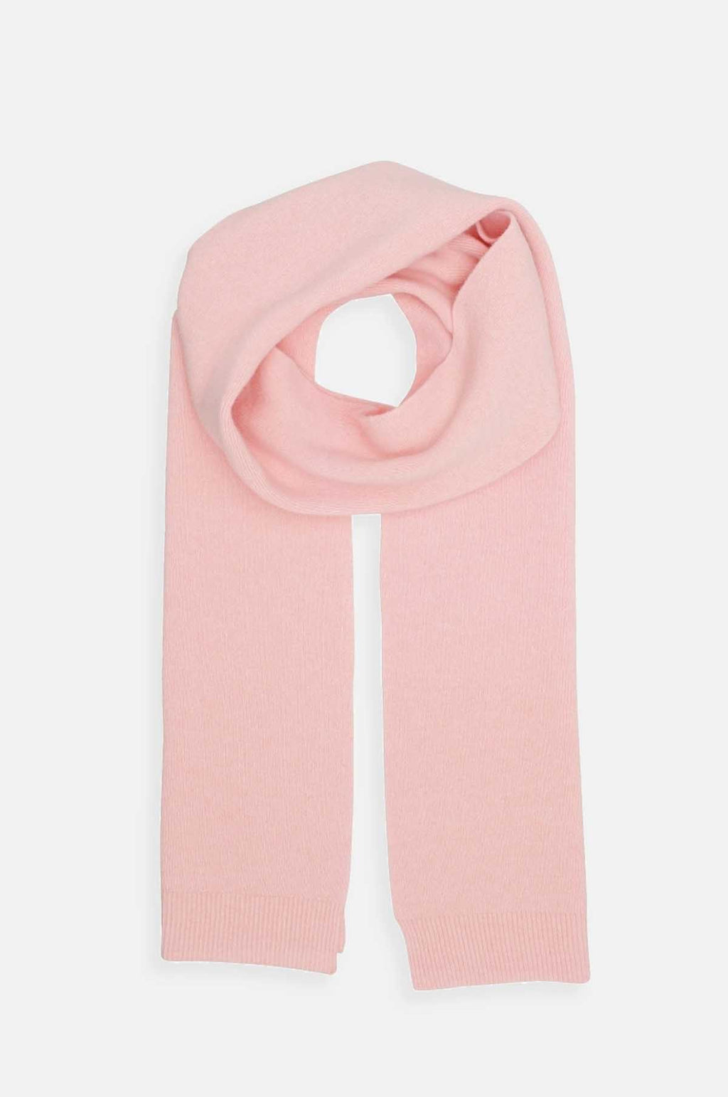 Merino Wool Scarf in Faded Pink