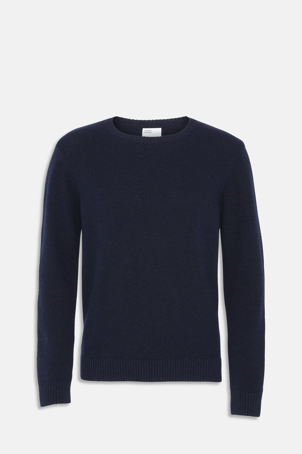 ReMade Wool Crewneck Jumper in Navy Blue