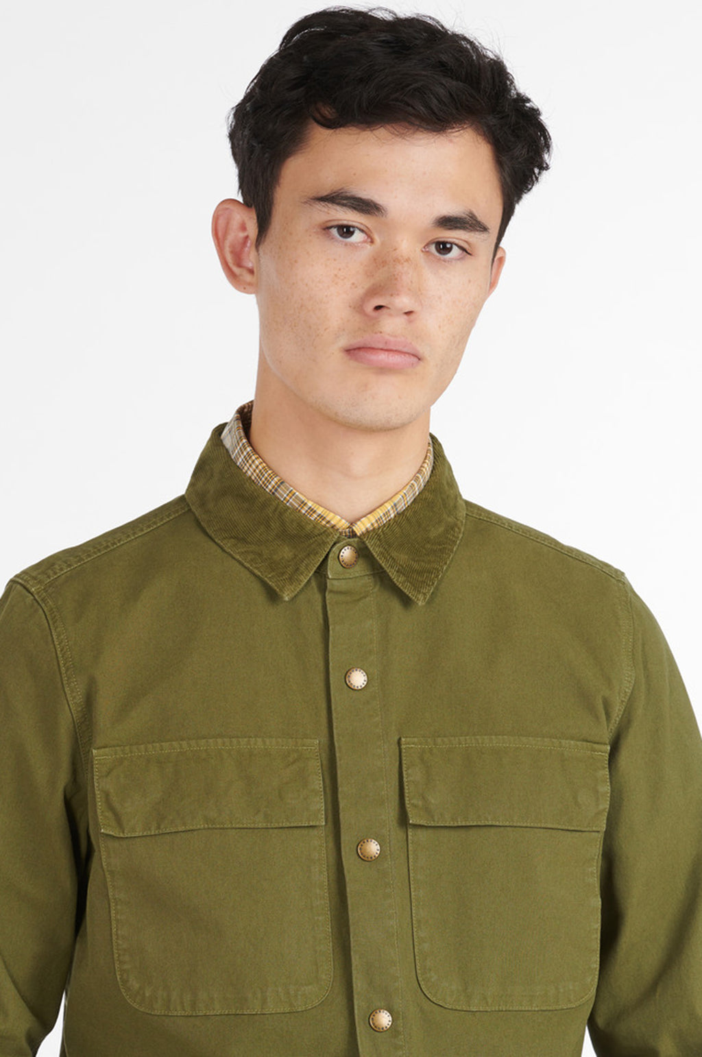 Nico Overshirt in Olive
