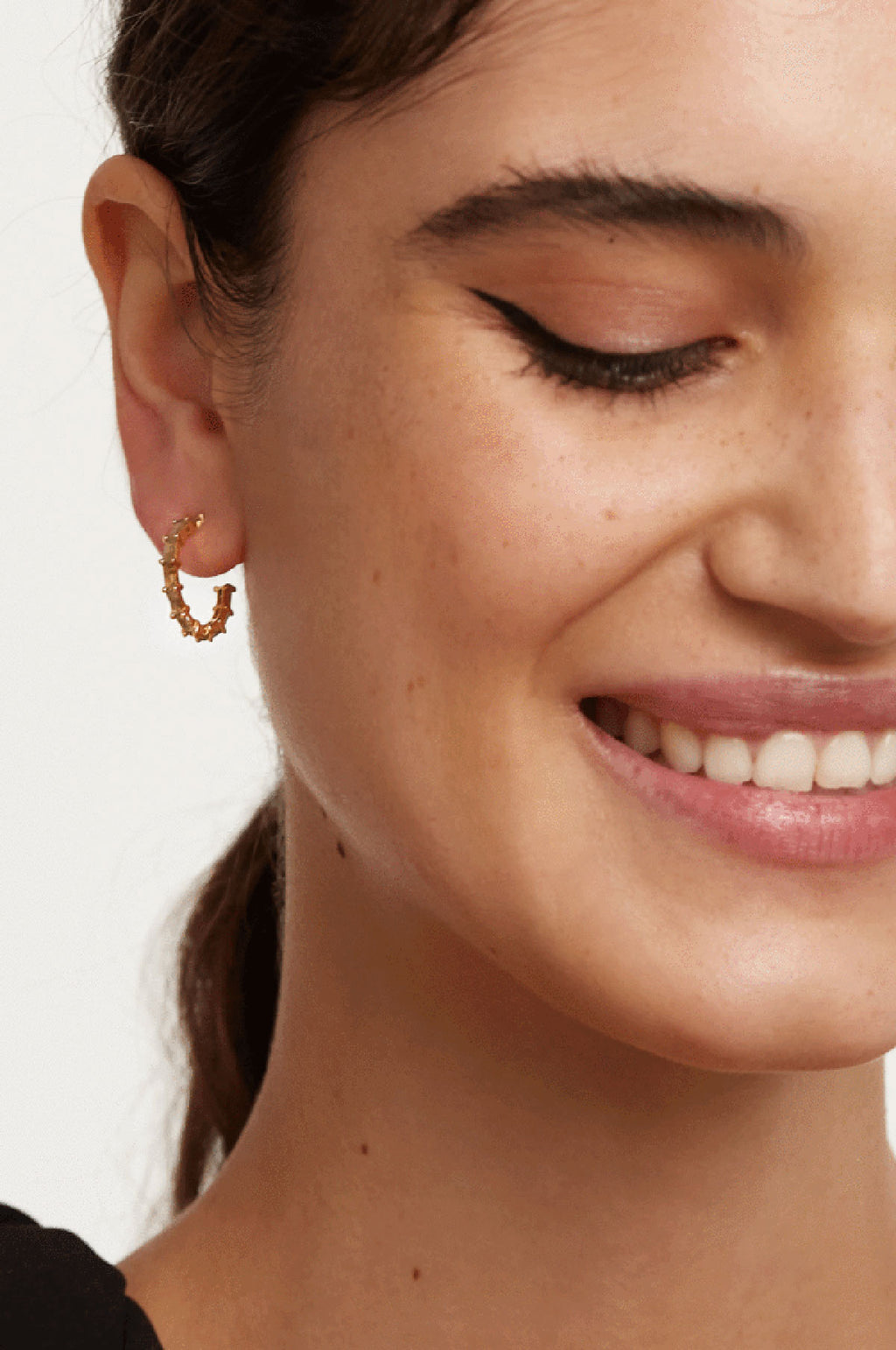 Pistil Gold Earrings