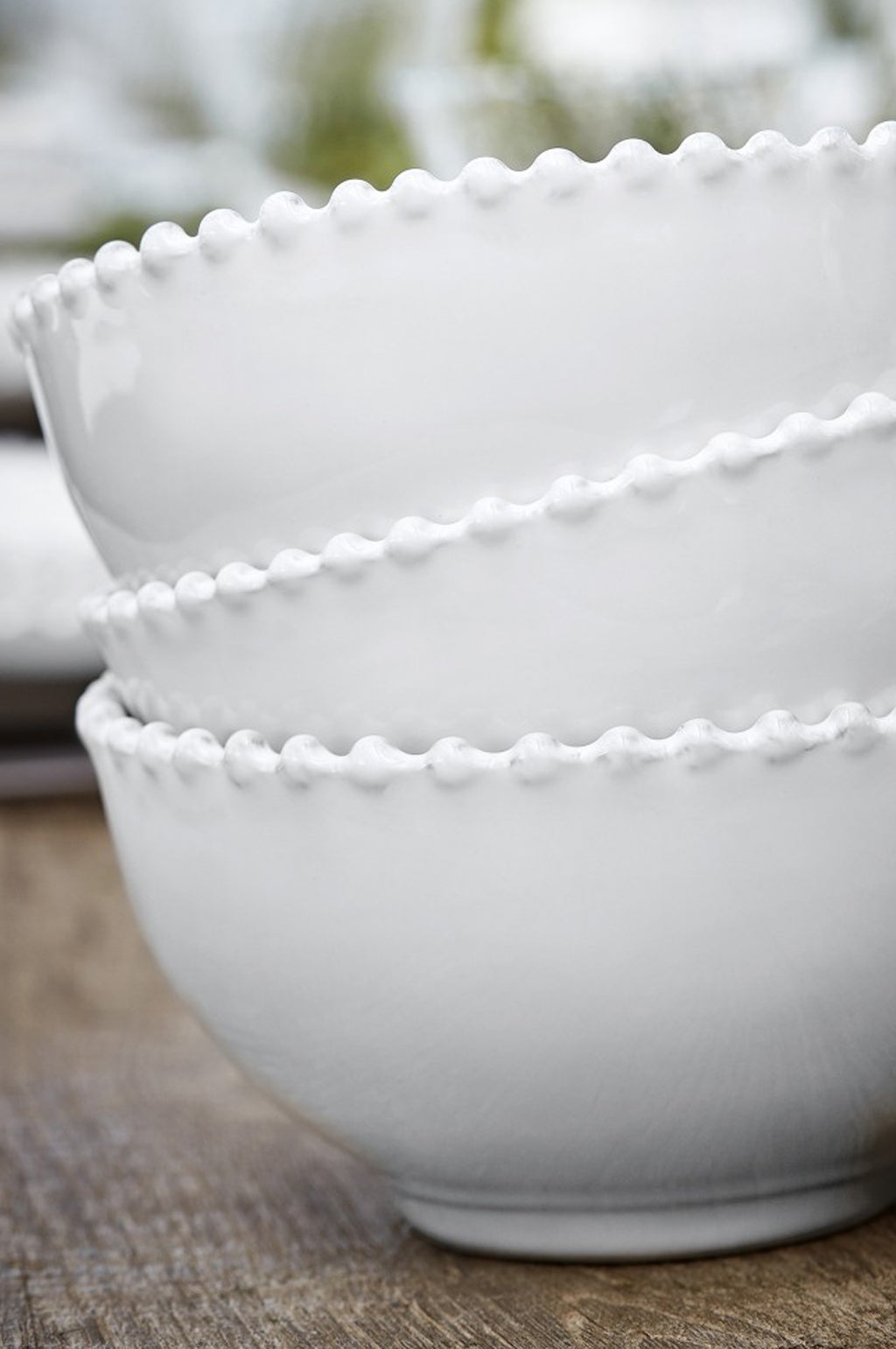 Pearl White Cereal Bowl