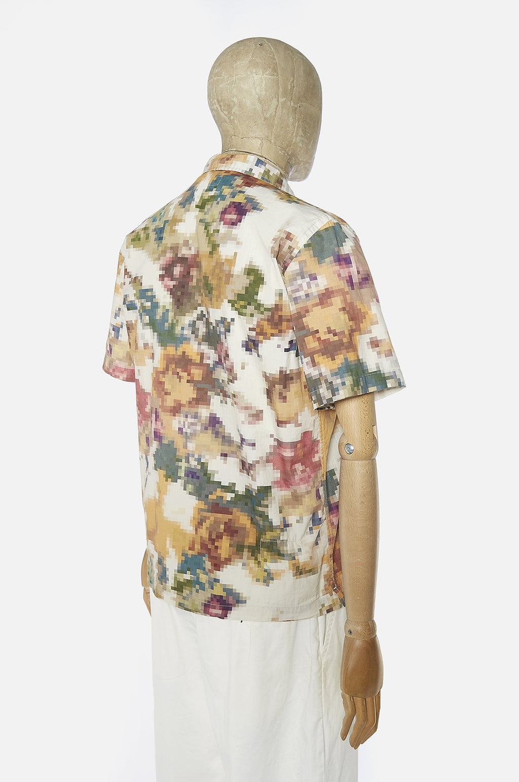 Pixel Flower Road Shirt Camo