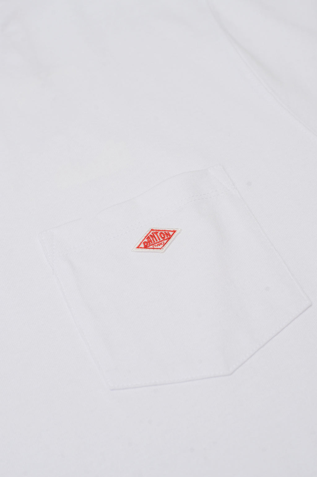 Pocket T S/S White