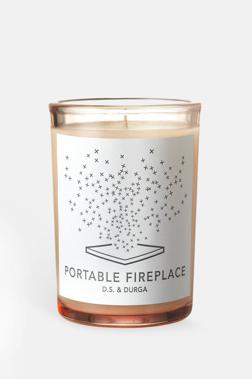 Portable Fireplace 7oz Candle
