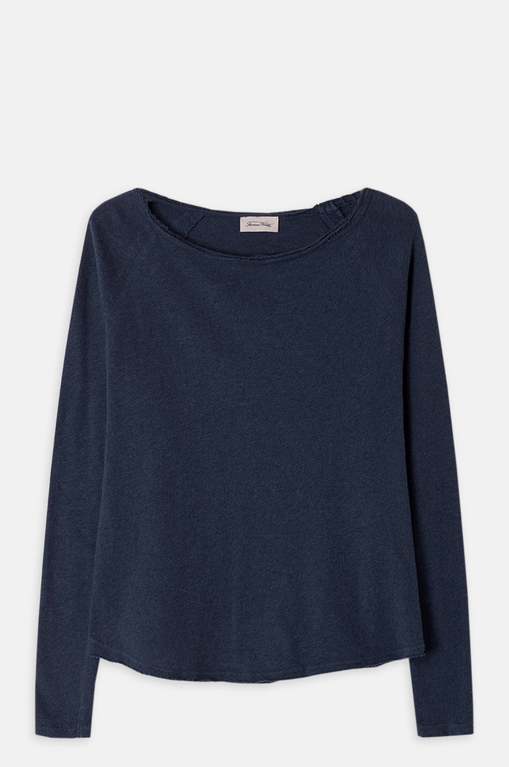 Sonoma Boat Neck T Shirt in Cosmos Melange
