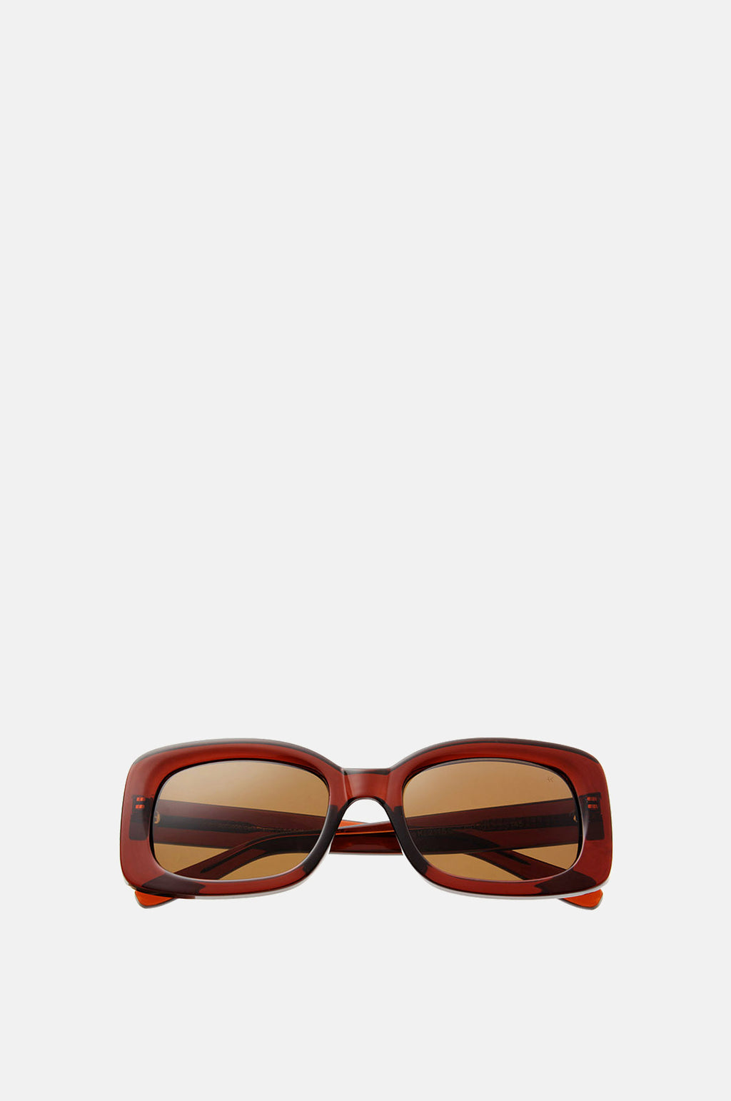 Salo Sunglasses Brown Transparent