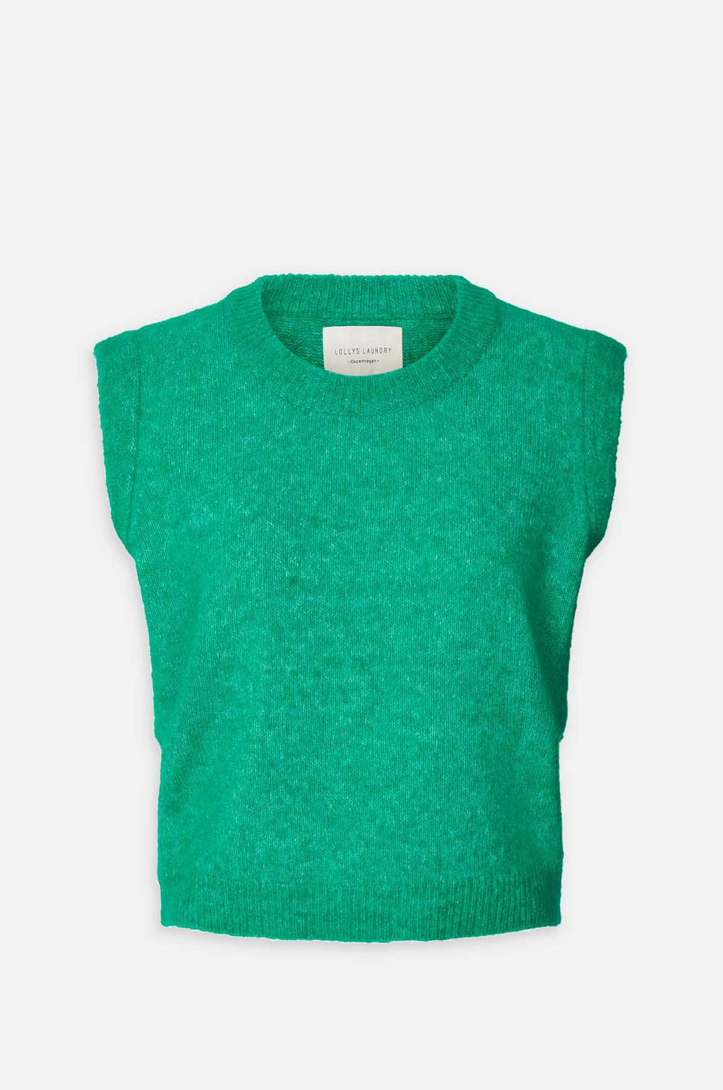 Sam Knitted Vest in Green