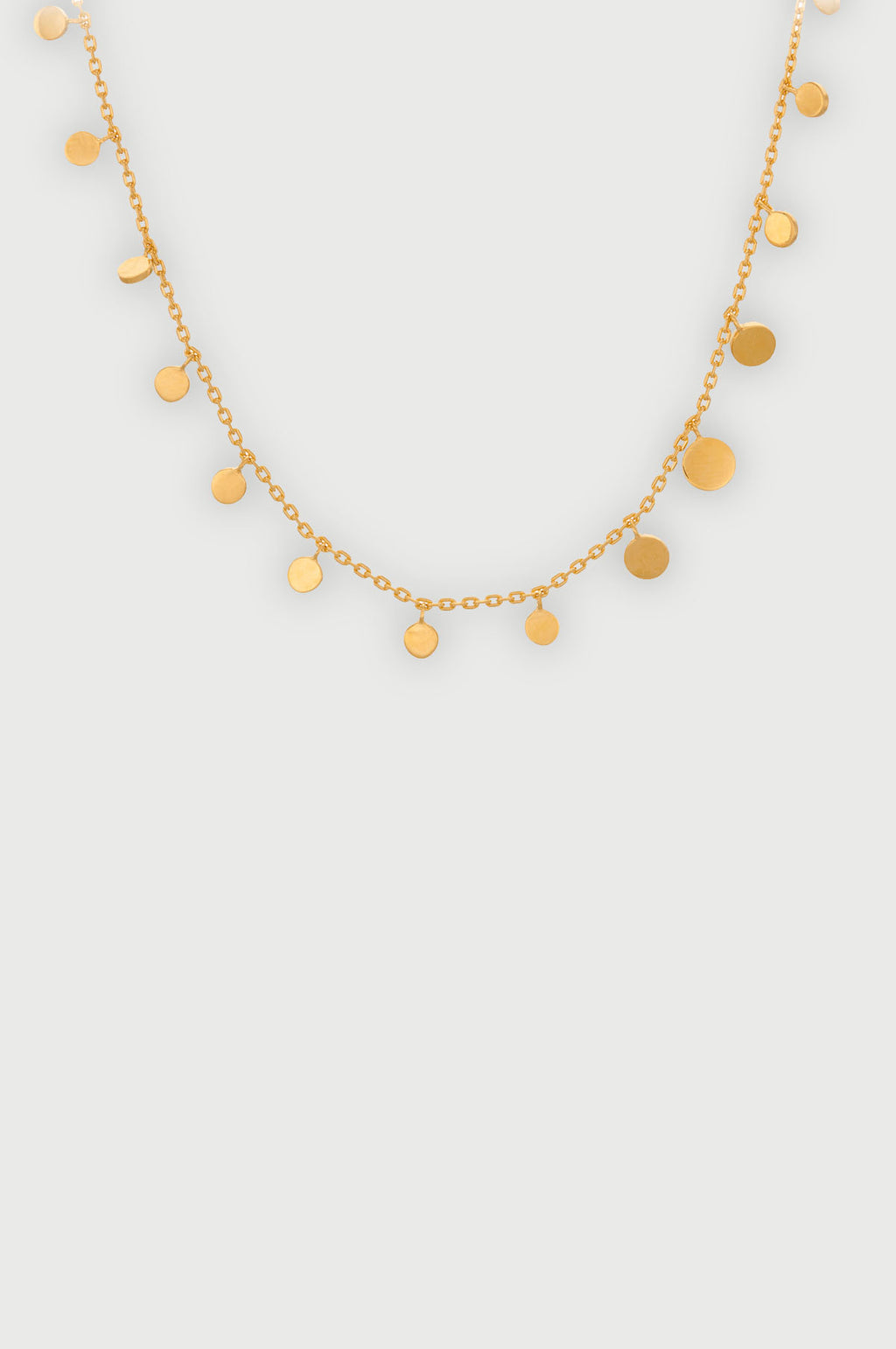 Sheen Gold Necklace