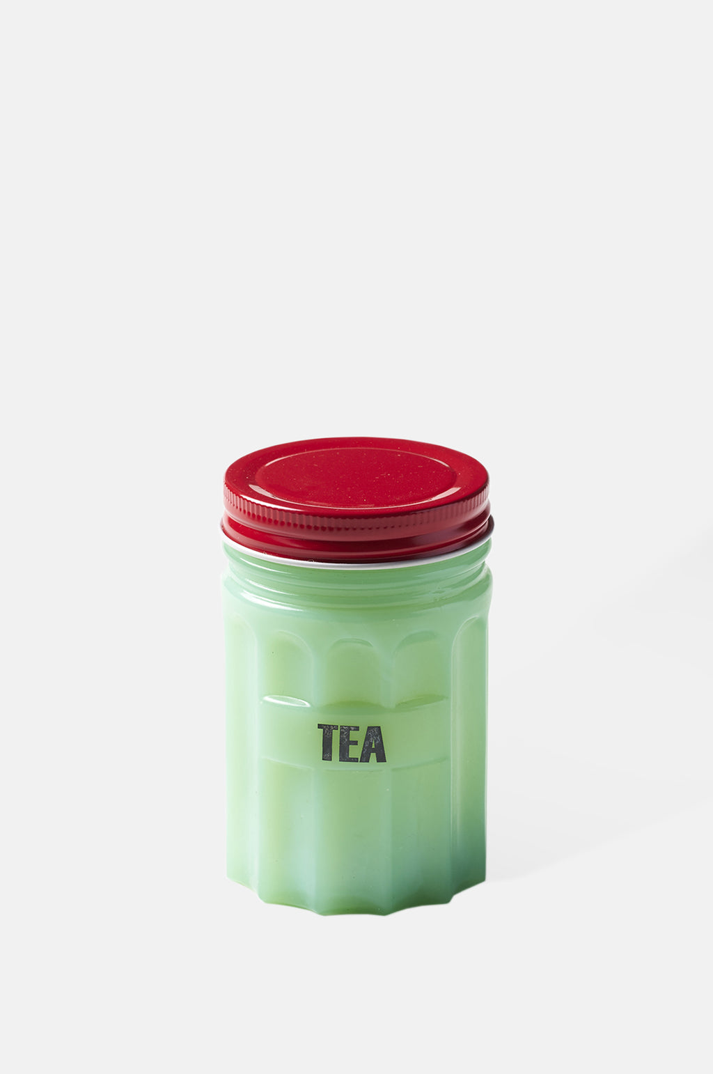 Tea Small Green Jar