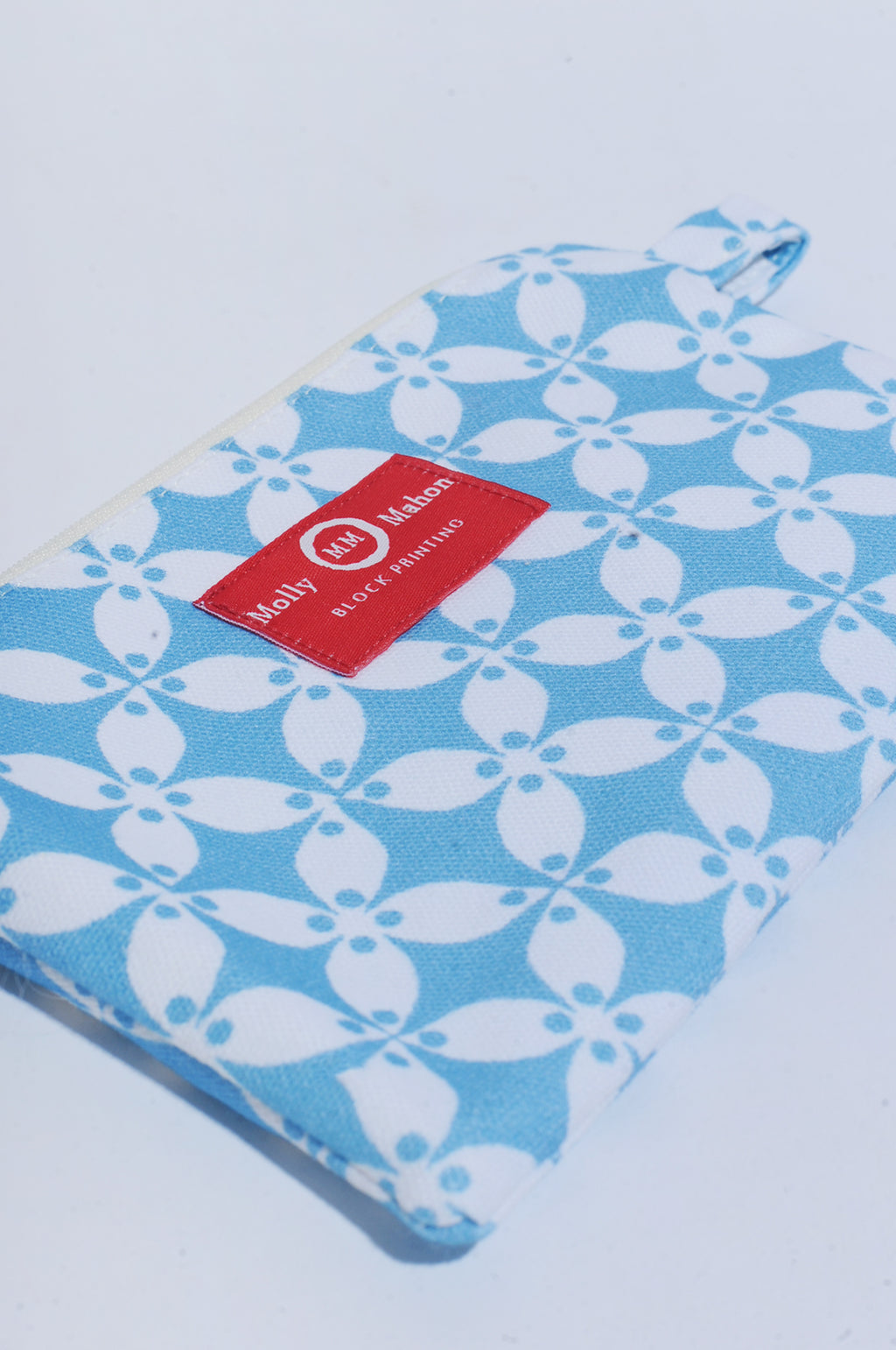Small Washbag in Petal Blue
