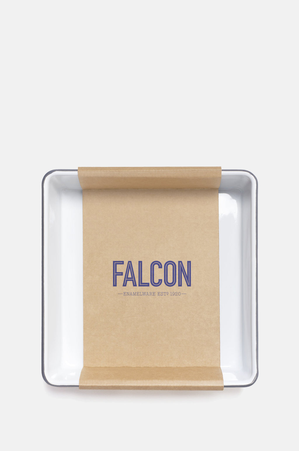 Square Bake Tray Pigeon Grey