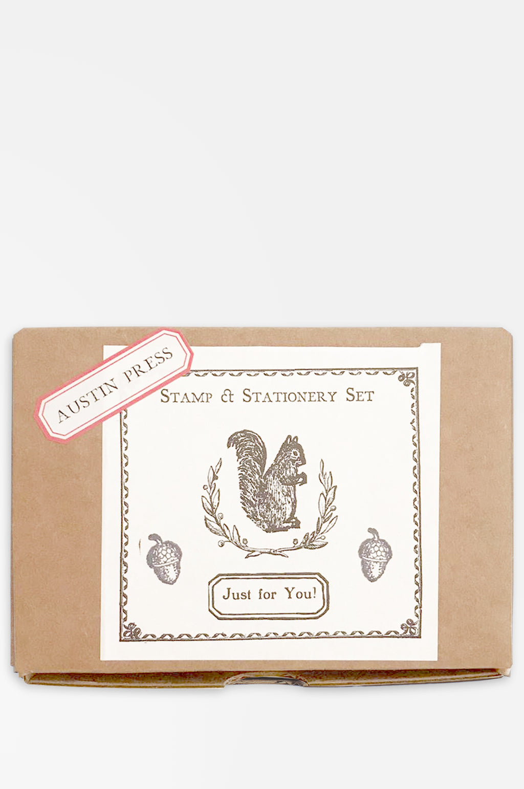 Squirrel Wreath Stamp Set