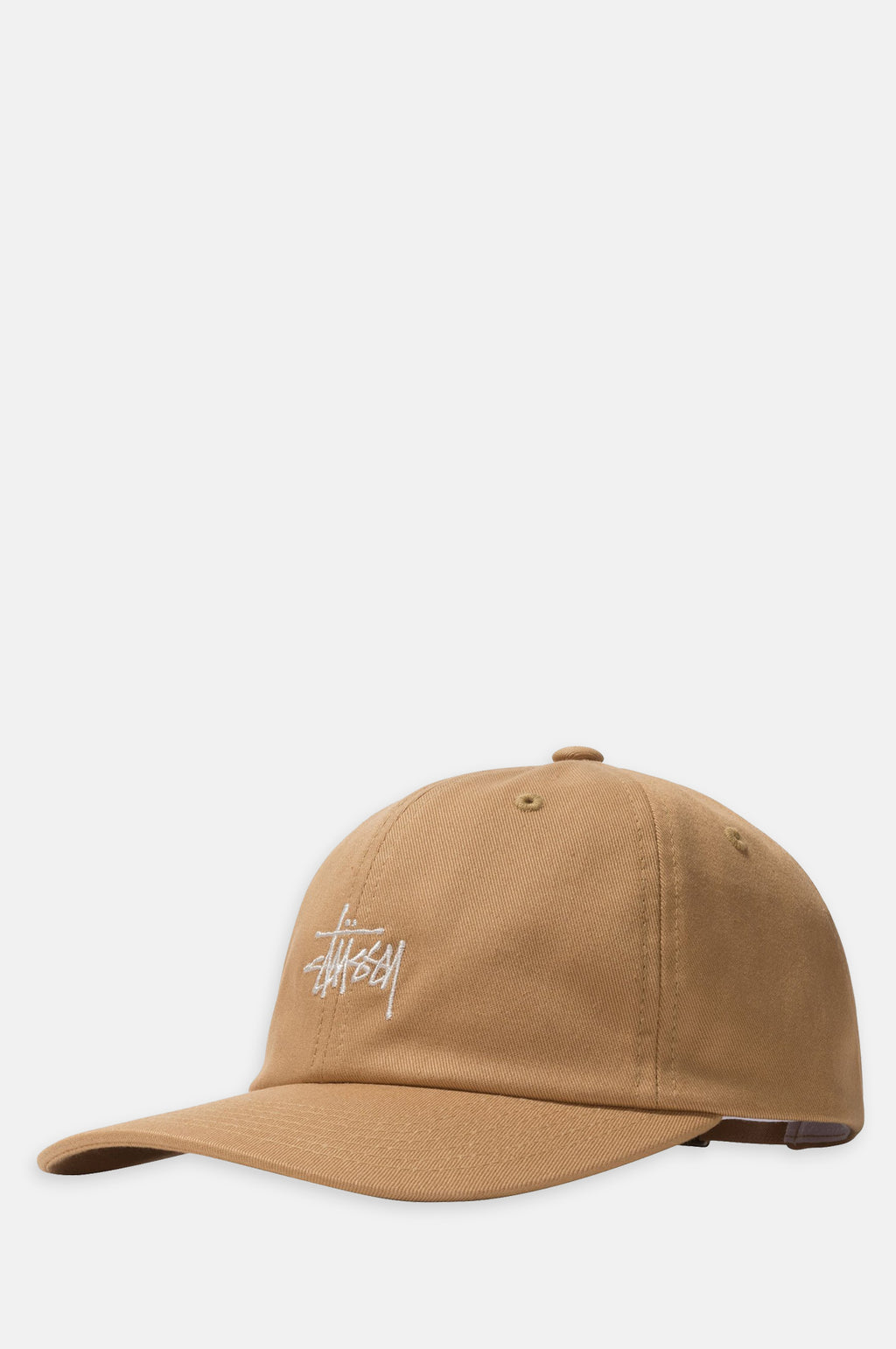 Stock Low Profile Cap in Khaki