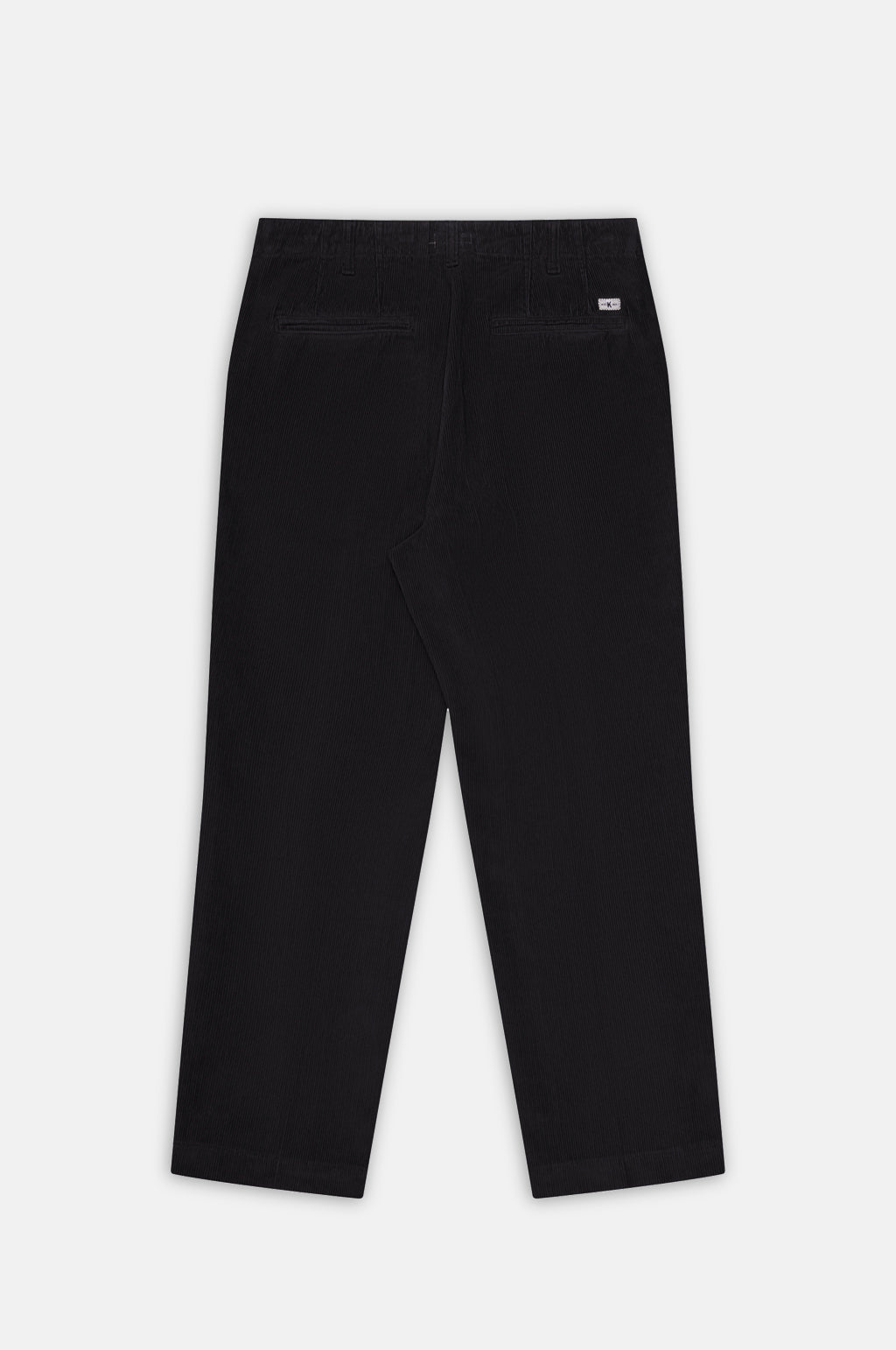Tapered Trouser in Coal Corduroy