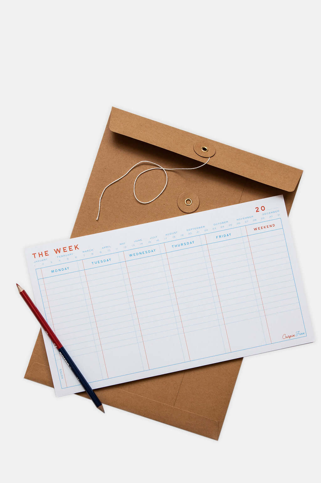 The Week Note Pad