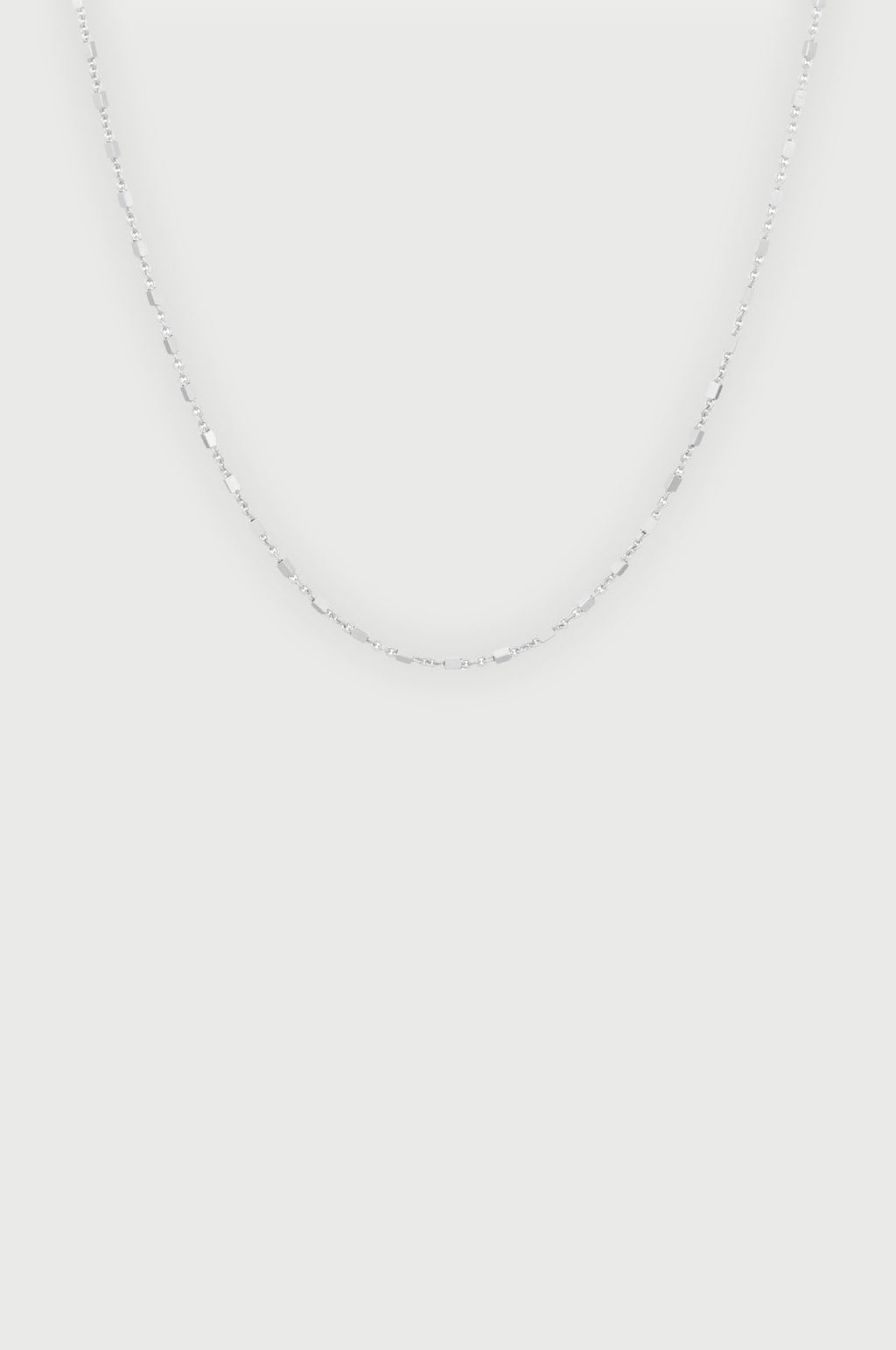 Thea Silver Necklace