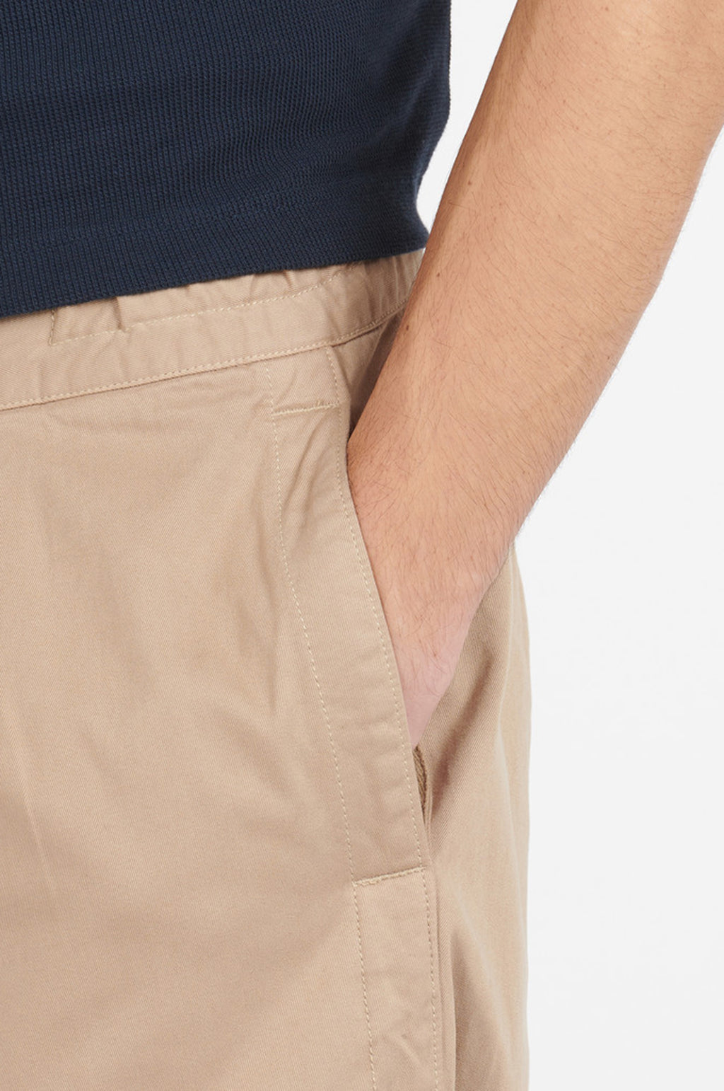 Twill Rugby Pant in Sand