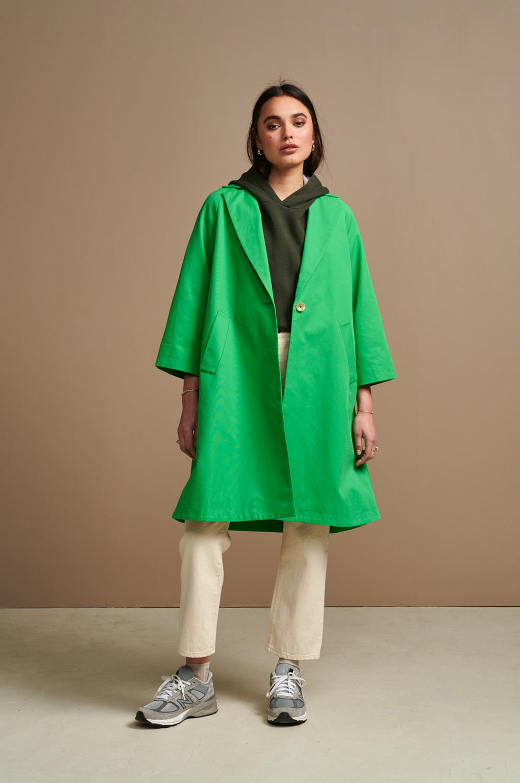 Veezy Coat in Clover