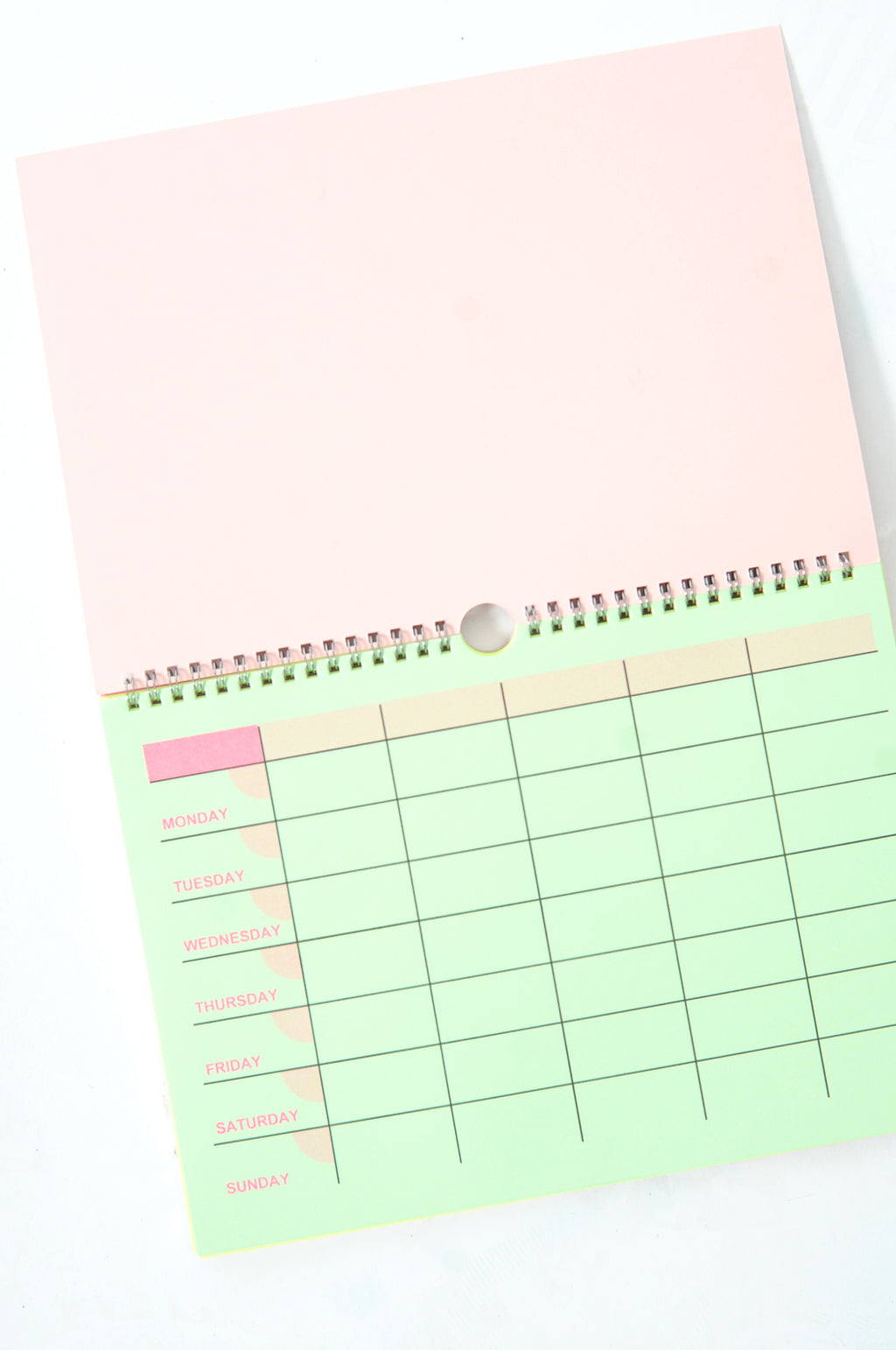 Weekly Planner Pink Leopard