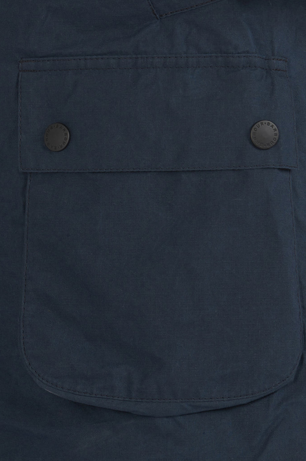 Slim Bedale Jacket in Navy (White Label)