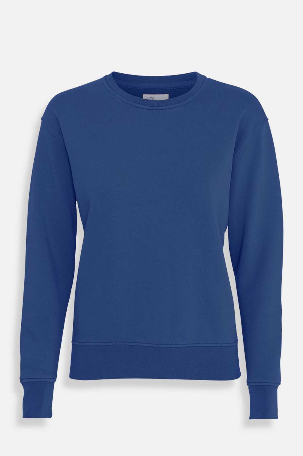 Women`s Classic Crew Sweatshirt in Royal Blue