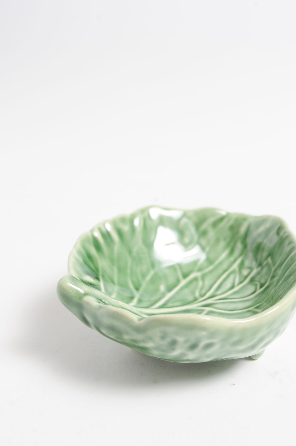 Bordallo Green Salt Bowl