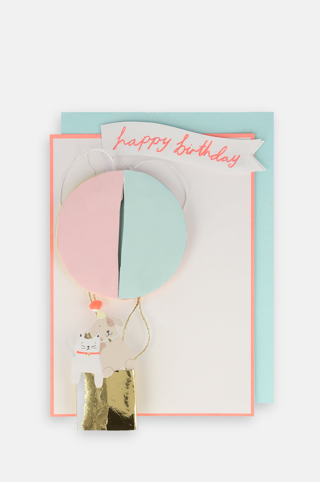 Air balloon Honeycomb Card
