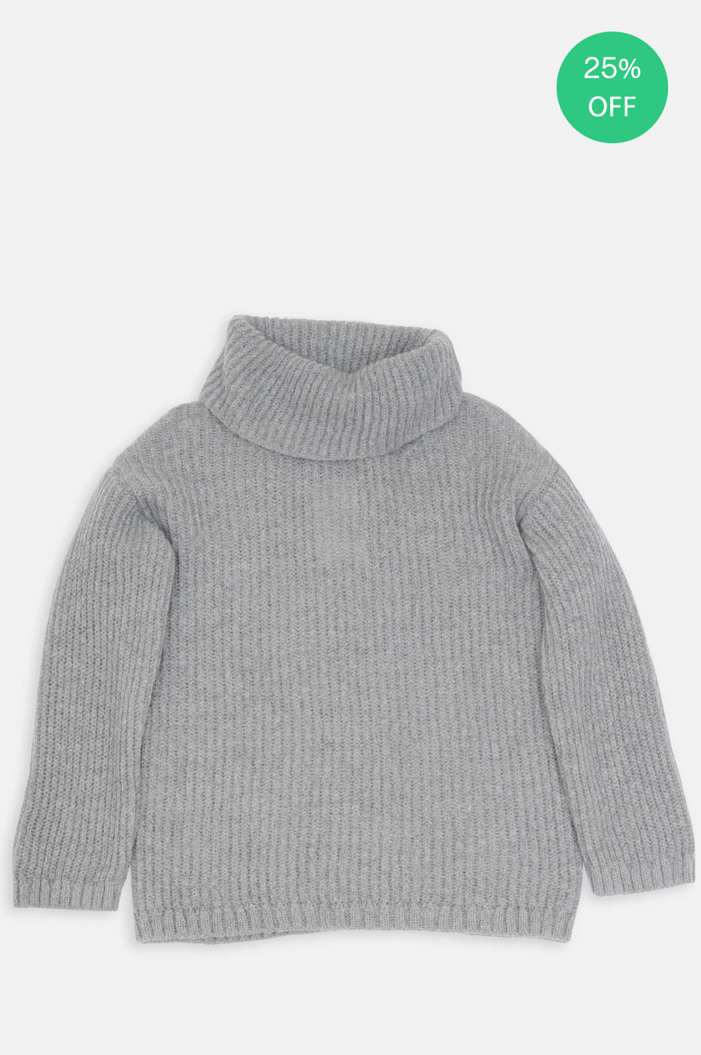 Dixie Pullover in Light Grey