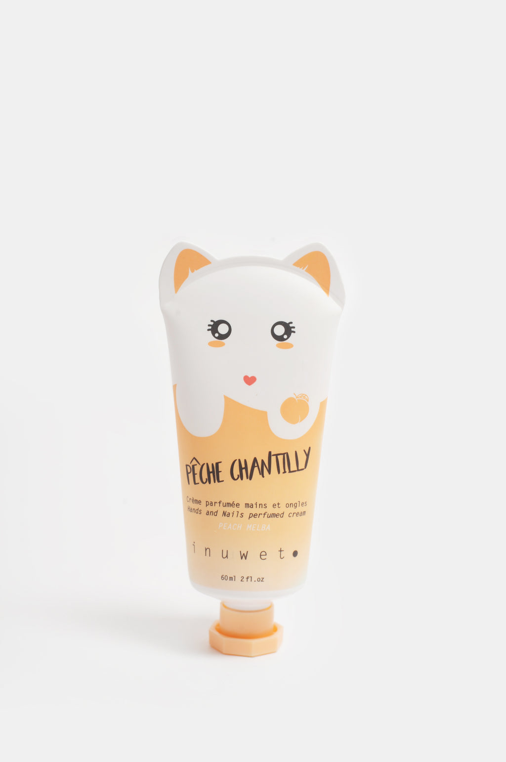 Cat Hand Cream Peach Melba