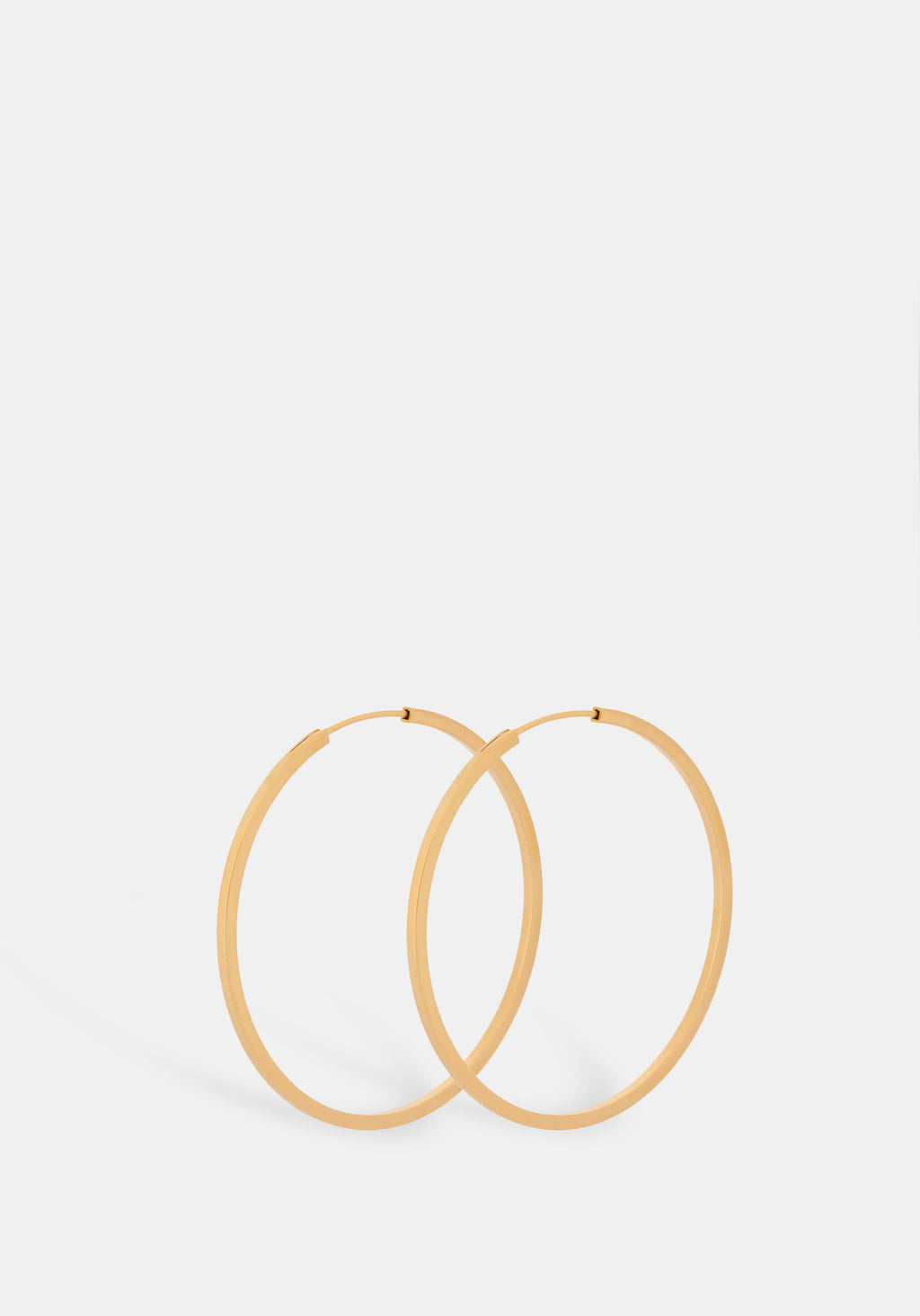 Small Orbit Gold Hoops