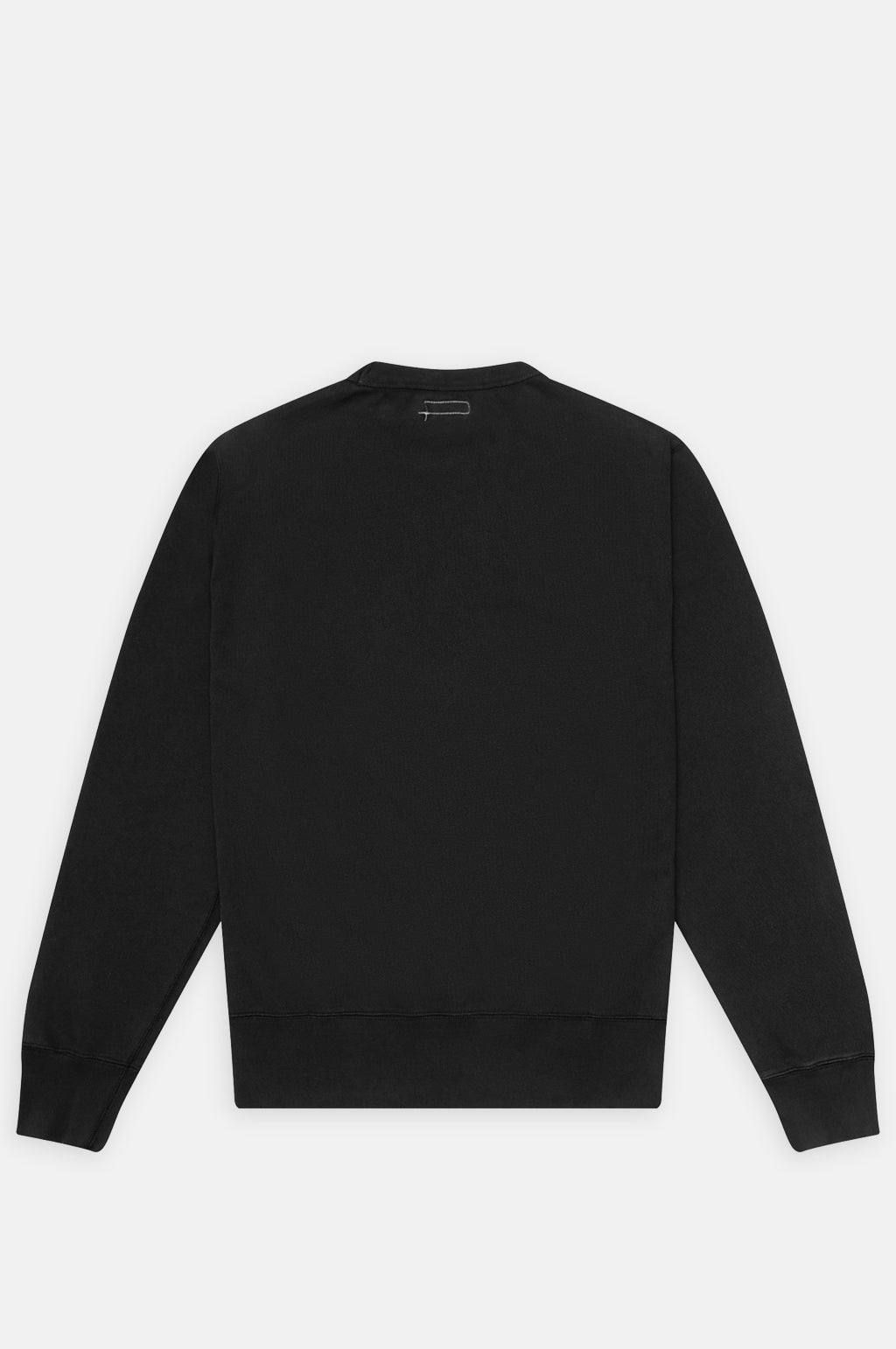 Gym Crew Neck Fleece in Coal