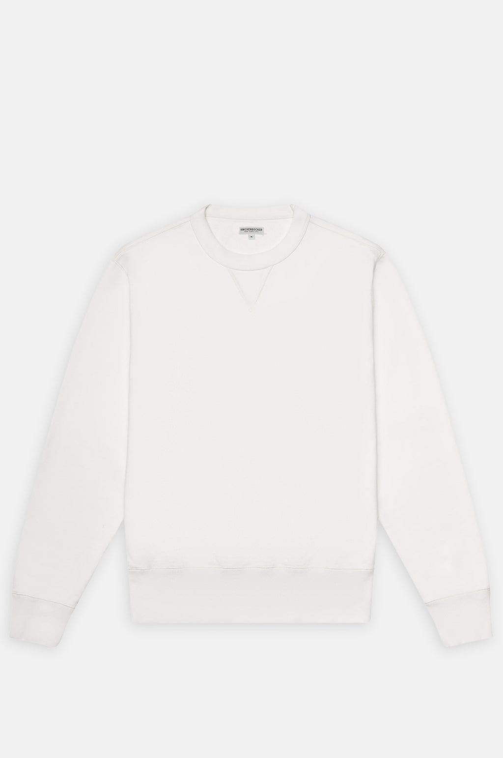 Gym Crew Neck Loopback Sweatshirt in Milk