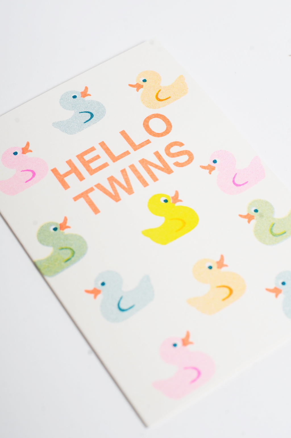 Hello Twins Riso Card