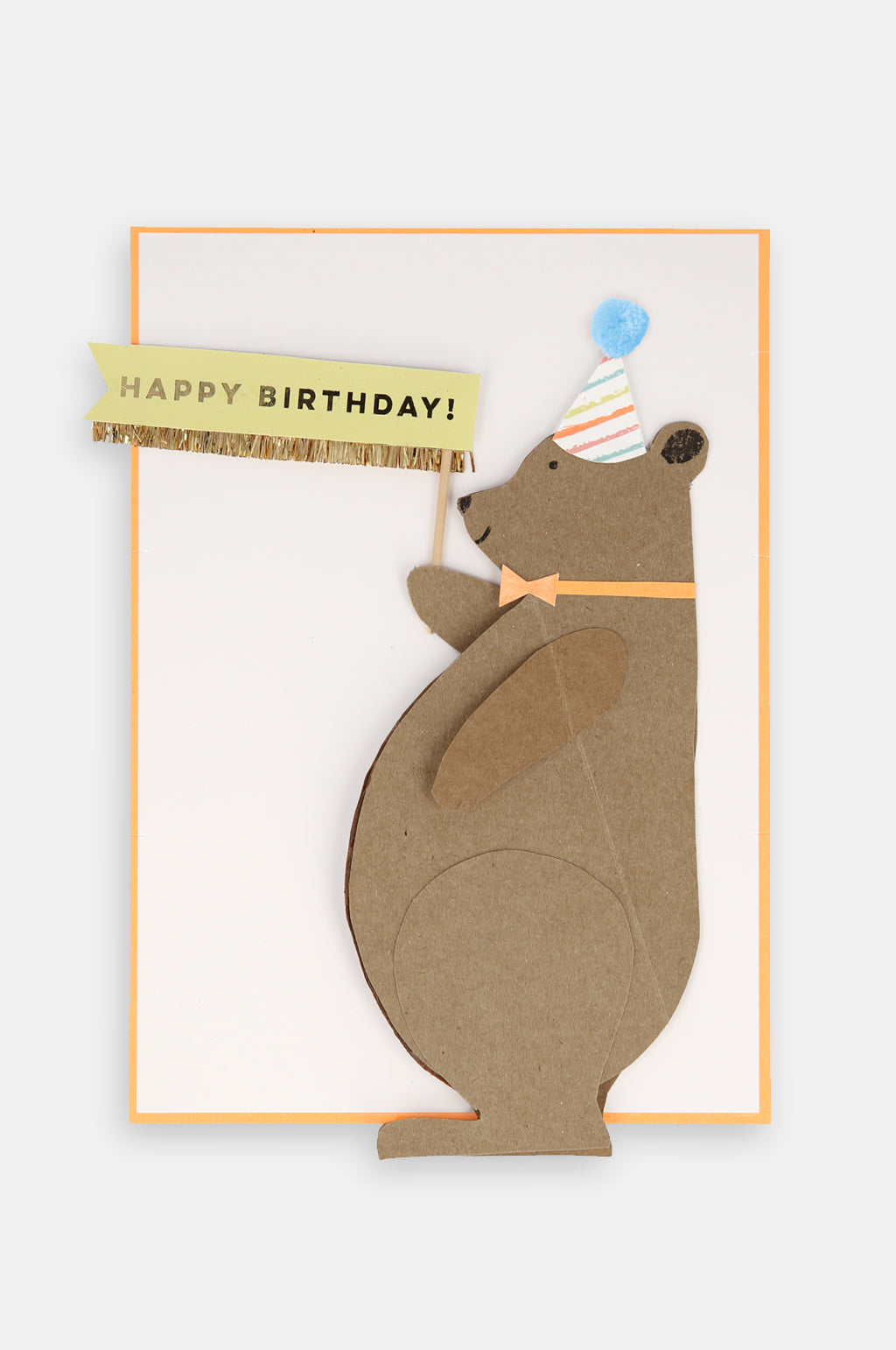 Honey Bear Stand-Up Card