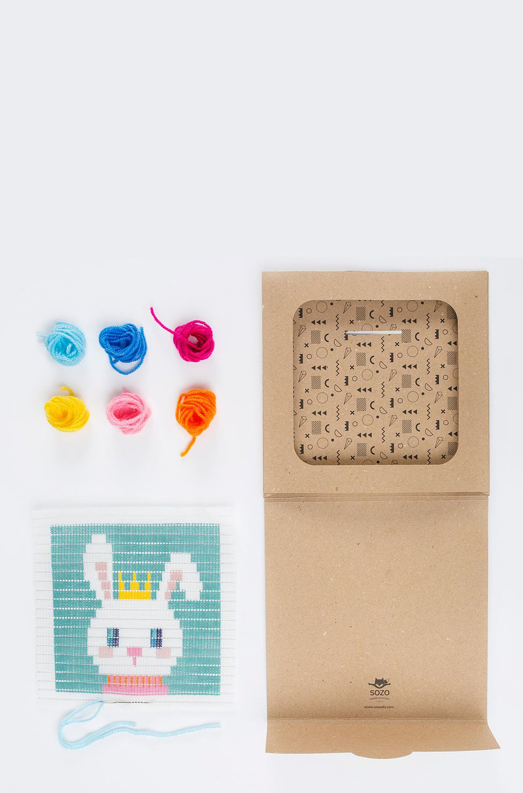 Bunny Embroidery Kit