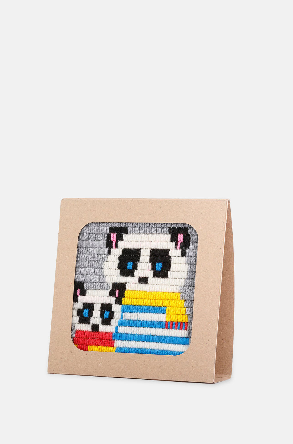 Panda Embroidery Kit