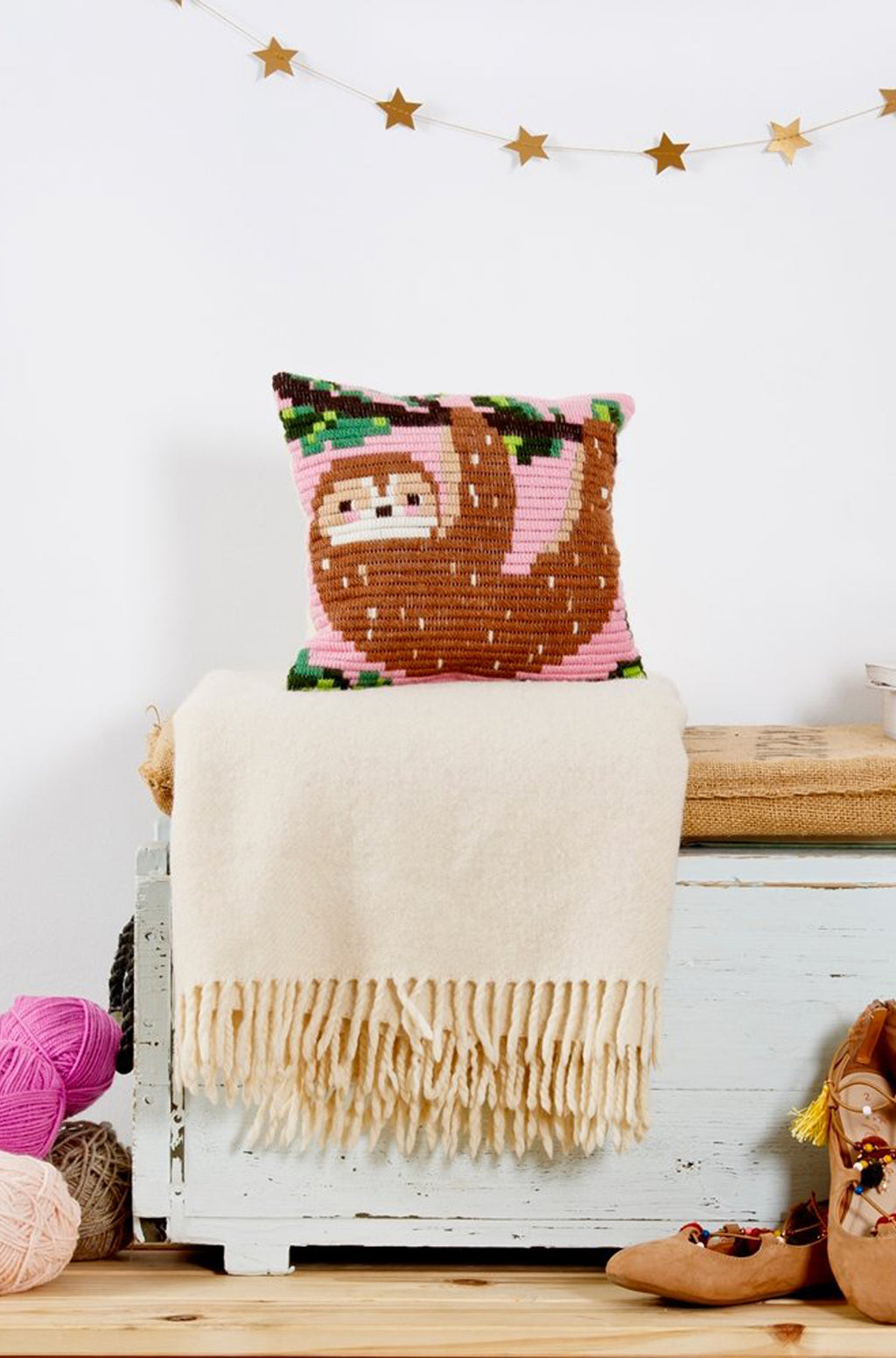 Sloth Pillow Kit