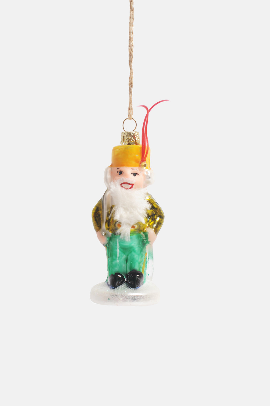 Nutcracker with Gold Coat Ornament