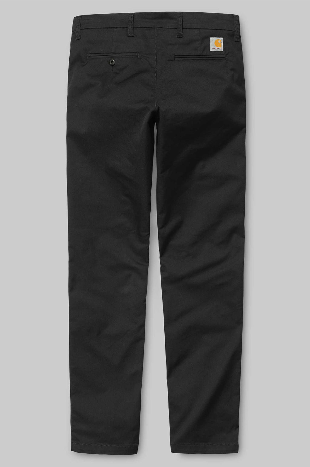 Sid Twill Pant in Black