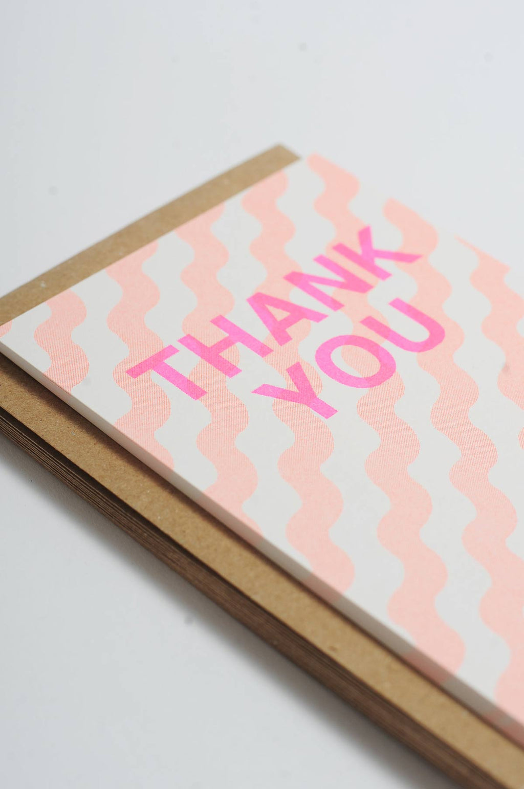 12 Thank You Cards Orange Wiggle