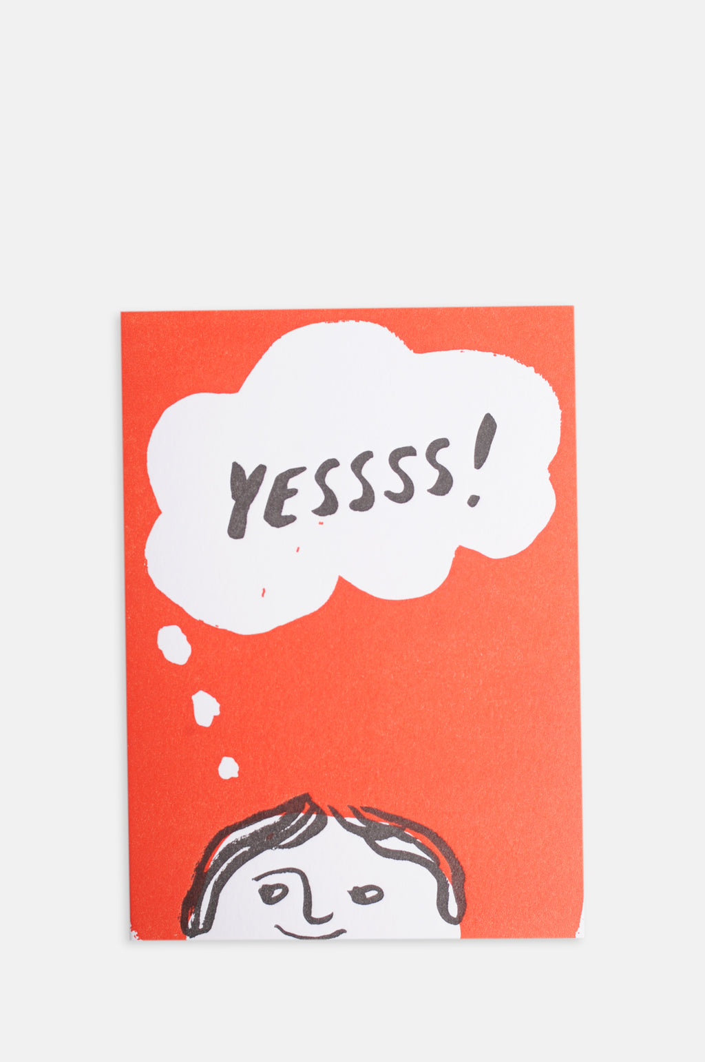 Yessss! Thought Bubble Card
