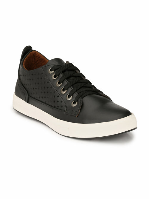Eego Italy Corporate Black Sneakers