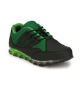 Eego Italy Black Genuine Leather Men's Sports Shoes